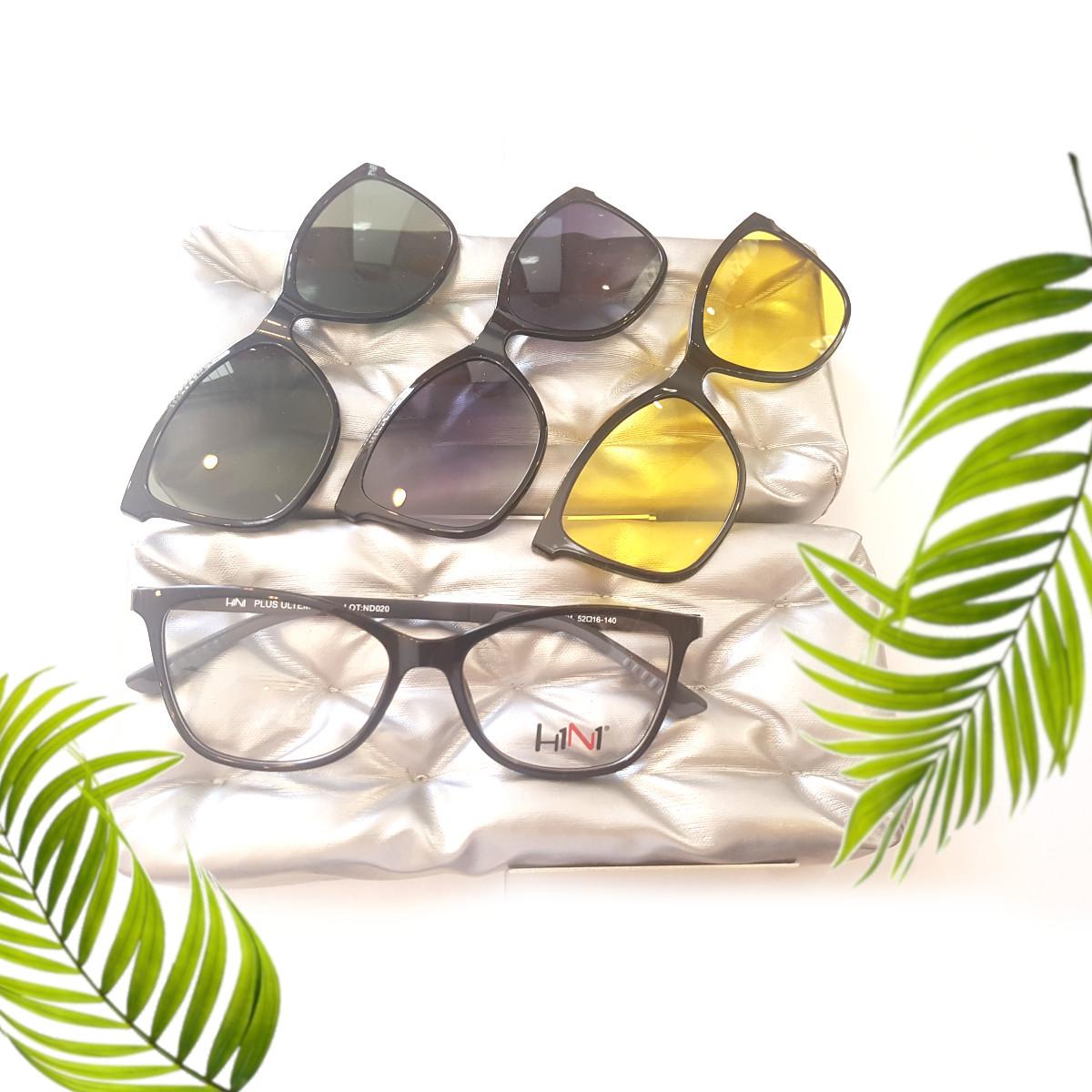Rainbow H1N1 trc018 – okulary z 3 nakładkami